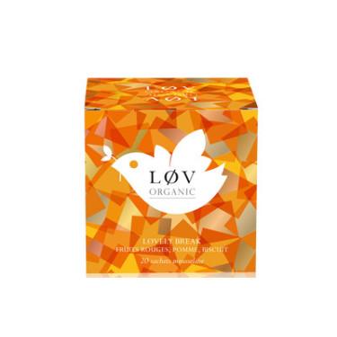 Чай фруктовый органический Lovely Break пакет. 20х2,5г, LoV Organic - 35500