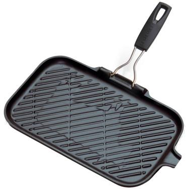 Сковорода-гриль чугунная для мяса 36х20см, Le Creuset
