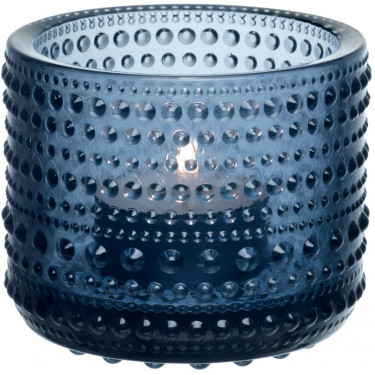 Подсвечник сине-серый 6,4см Kastehelmi, Iittala