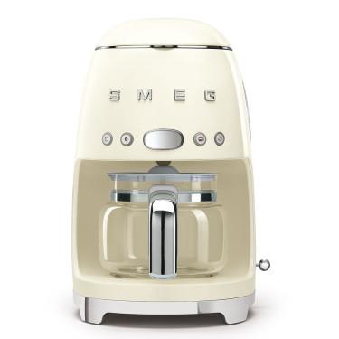 Кофеварка капельная кремовая, SMEG