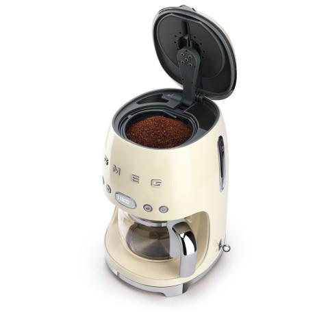 Кофеварка капельная кремовая, SMEG - 87865