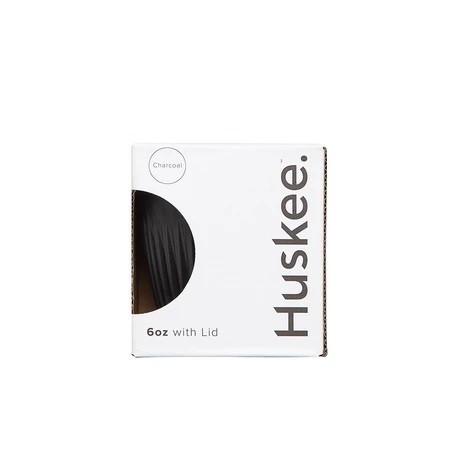 Чашка з крышкой угольного цвета 177мл, Huskee - 50193