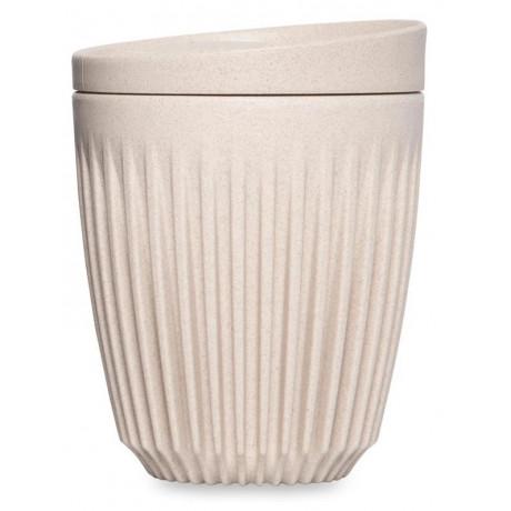 Чашка з крышкой песочного цвета 236мл, Huskee - 89732