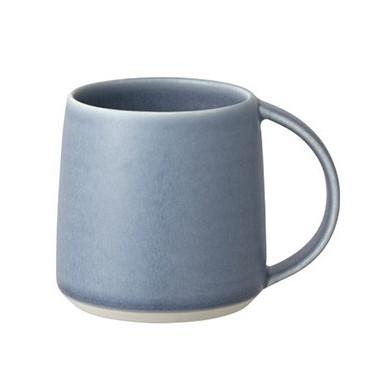 Кружка Ripple 250мл голубая, Kinto