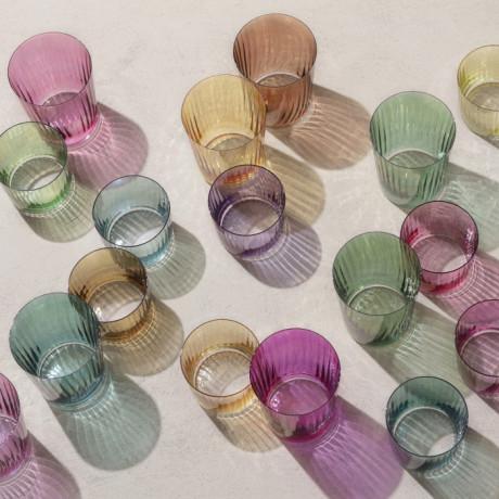 Набор тамблеров янтарного цвета 560мл (4шт в уп) Gems, LSA international - 51352