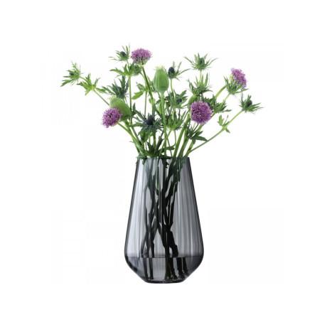 Ваза для цветов серая 28см Zinc, LSA international - 48965