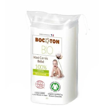 Ватные диски большие детские органические 60шт, Bocoton Bio - 87861