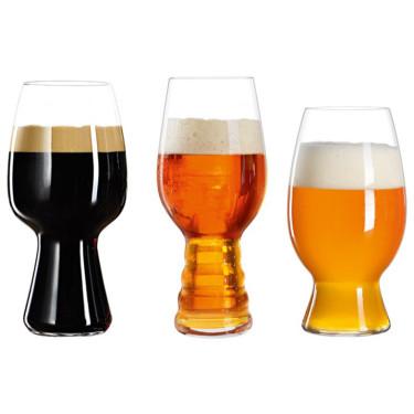 Дегустационный набор бокалов для пива (3 шт в уп) Craft Beer Glasses, Spiegelau - 21493