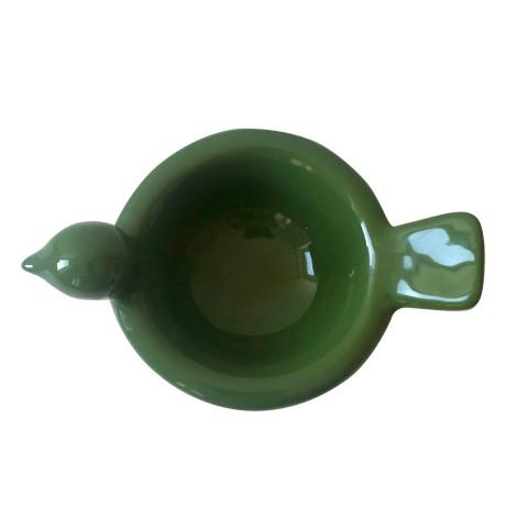 Пиала Птица керамическая зеленая, Gunia project - 52455
