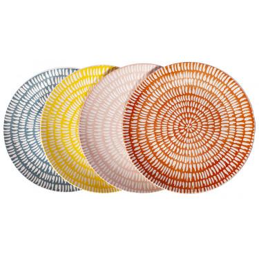 Набор тарелок Seeds (4шт в уп), Pols potten