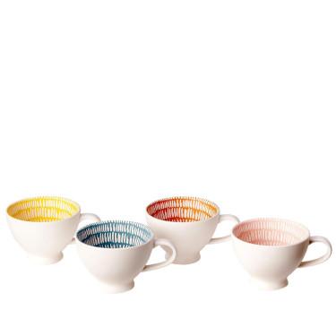 Набор чашек Seeds (4шт в уп), Pols potten
