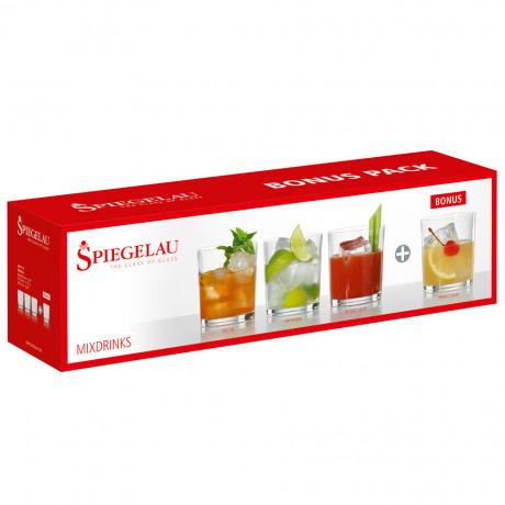 Набор бокалов для коктейля 0,370л (3 + 1 шт) Bonus Packs, Spiegelau - 21489