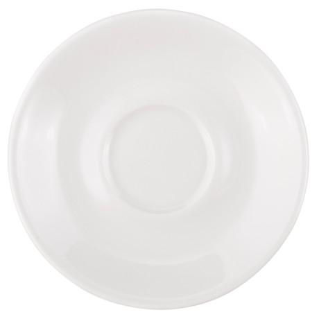 Блюдце белое 11,5см, Acme - 21552