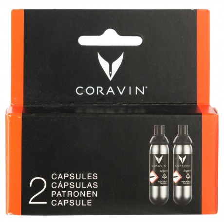 Капсула с аргоном для коравина A65 (2шт), Coravin - 22624