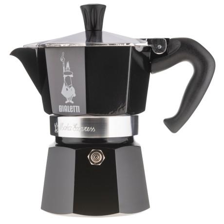 Кофеварка гейзерная на 3 чашки черная, Bialetti - 48018