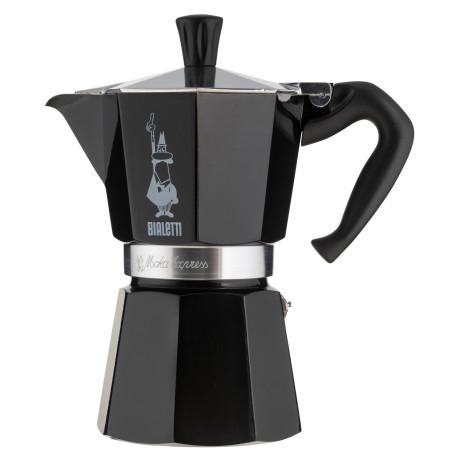 Кофеварка гейзерная на 6 чашек черная, Bialetti - 48019