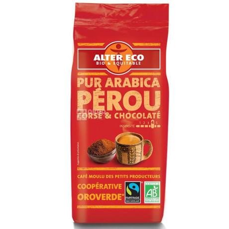 Кофе молотый органический Арабика 100% Перу 260г, Alter Eco - 28466