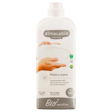 Средство для мытья посуды Bio2 Sensitive 1л, Almacabio - 50075