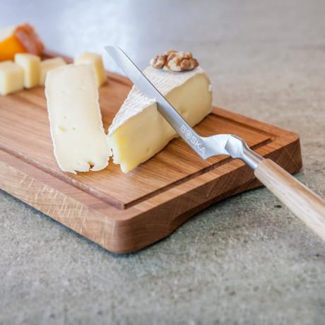 Нож для мягкого сыра с дубовой ручкой, Boska Holland - 45117