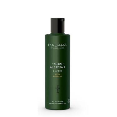 Шампунь для сухих и поврежденных волос Nourish & Repair 250мл, Madara cosmetics