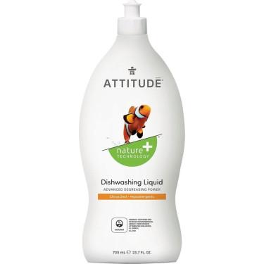 """Средство для мытья посуды """"Цитрус"""" 700мл, Attitude"""