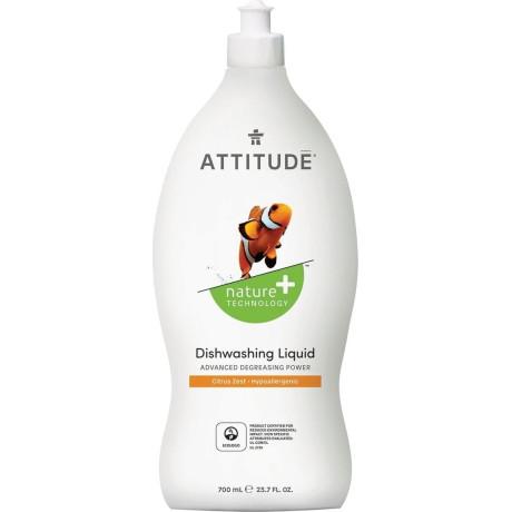 """Средство для мытья посуды """"Цитрус"""" 700мл, Attitude - 59861"""