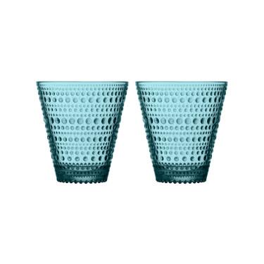 Набор стаканов Sea blue (2шт в уп) 300мл Kastehelmi, Iittala