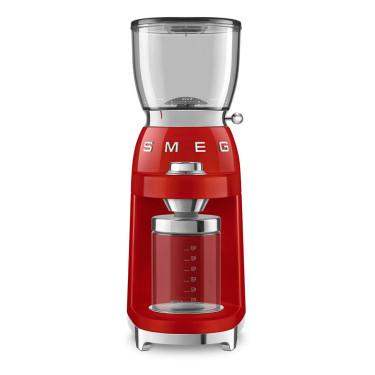 Кофемолка красная стиль 50х, SMEG - 90254