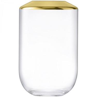 Ваза для цветов золотого цвета 25см Space, LSA international - 92973