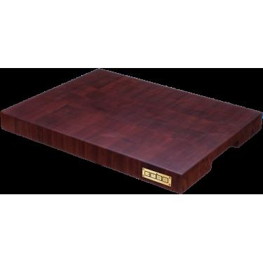 Доска торцевая кухонная из сапеле (красное дерево), Cubo - 93167