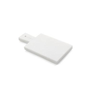 Доска для сыра мраморная прямоугольная белая 21,5х10см, Boska Holland