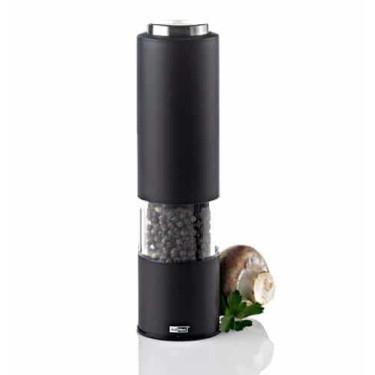 Мельница для соли/перца электрическая с подсветкой Tropica черный, Ad Hoc