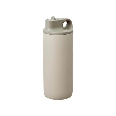 Бутылка для воды бежевая 600мл Active, Kinto