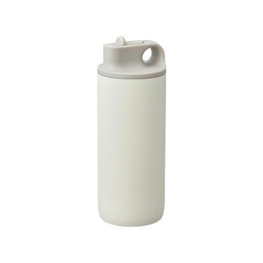 Бутылка для воды белая 600мл Active, Kinto