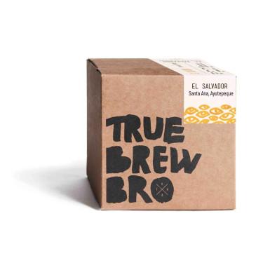 Кофе свежеобжаренный под эспрессо Сальвадор Санта Анна 250г, True Brew Bro - 95417