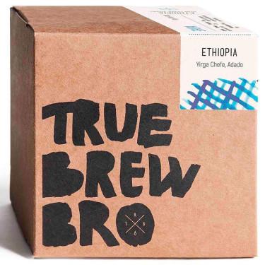Кофе свежеобжаренный под фильтр Эфиопия Ададо 250г, True Brew Bro - 95418