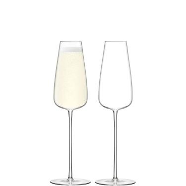 Набор бокалов для шампанского Флют 330мл (2шт в уп) Wine Culture, LSA International - 44249