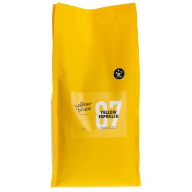 Смесь кофе свежеобжаренного под эспрессо Yellow Espresso 1кг, Yellow Place - Q0316