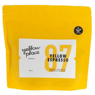 Смесь кофе свежеобжаренного под эспрессо Yellow Espresso 250г, Yellow Place - Q0317
