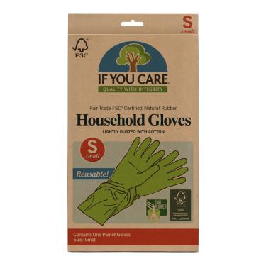 Перчатки латексные маленькие зеленые, If You Care - 37047