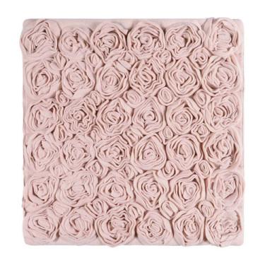 Коврик для ванной пудрового цвета 60х60см Rose, Aquanova