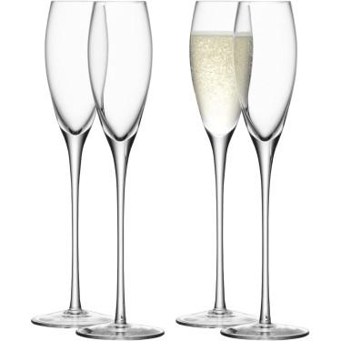 Набор бокалов для шампанского 160мл (4шт в уп), LSA international - 95357