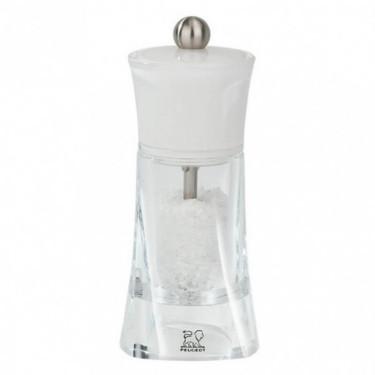 Мельница для соли белого цвета 14см Molene, Peugeot