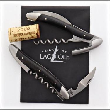 Штопор с ручкой из черного дерева глянцевый, Forge de Laguiole - 40346