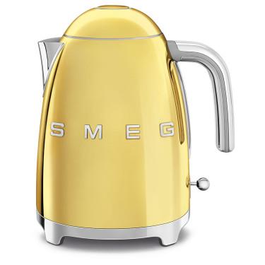 Чайник электрический стиль 50х золотого цвета, SMEG