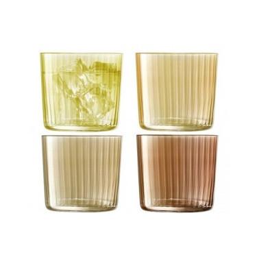 Набор тамблеров янтарного цвета 310мл (4шт в уп) Gems, LSA international