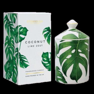Свеча ароматическая Coconut & Lime Zest (тумблер) Urban Botanics, Stoneglow - 46199
