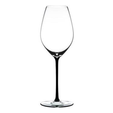 Бокал для шампанского с черной ножкой 445мл Fatto a Mano, Riedel - Q0709