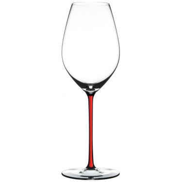 Бокал для шампанского с красной ножкой 445мл Fatto a Mano, Riedel - Q0710