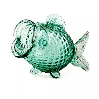 "Ваза ""Fish"" зеленая 38x16x24см, Pols potten"